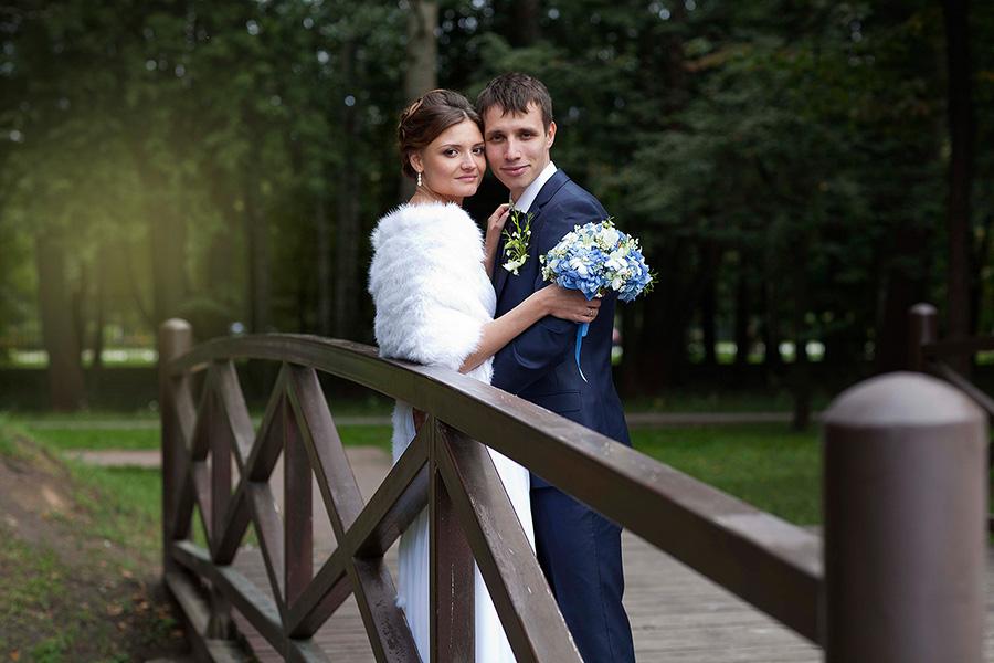 Свадебная прогулка в усадьбу Кусково