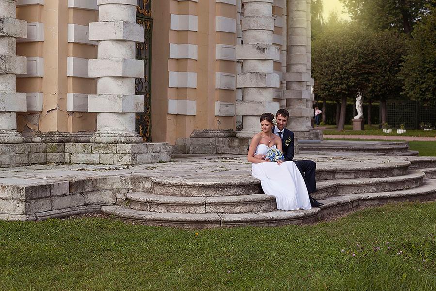 Свадебная прогулка в парке Кусково
