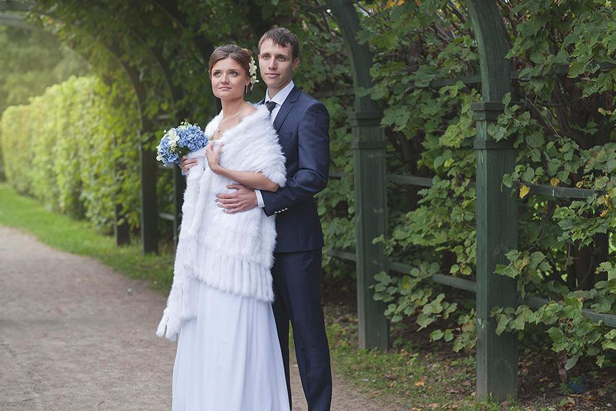 Свадебная фотосессия в усадьбе Кусково