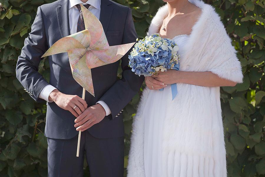 Свадебная прогулка в усадьбе Кусково