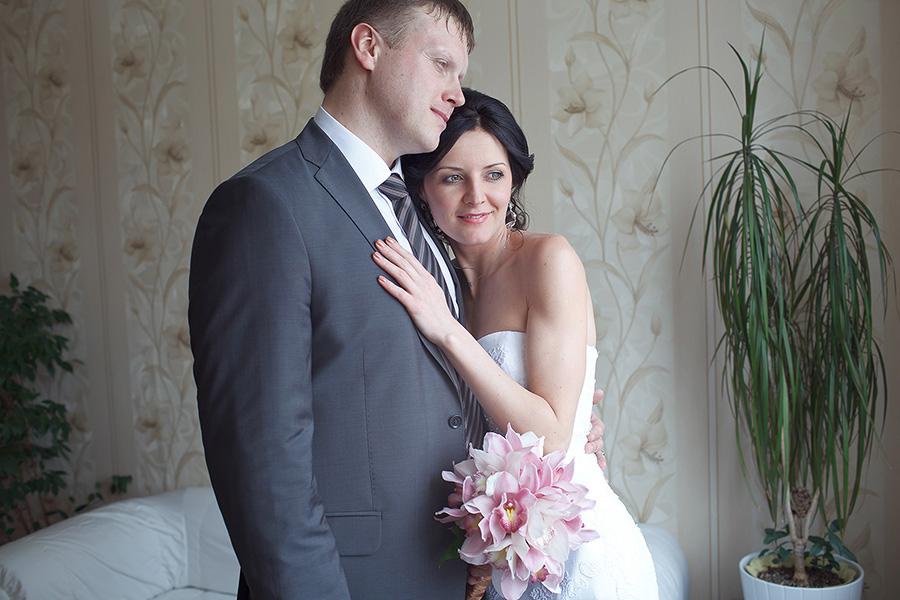 Сборы невесты и жениха