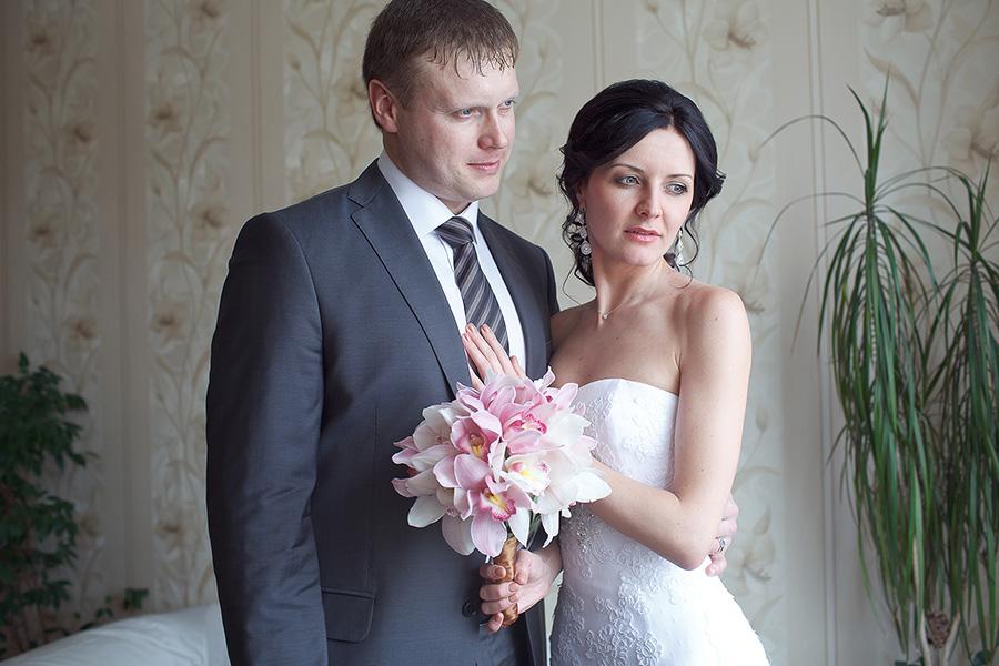 Жених Максим и невеста Ольга
