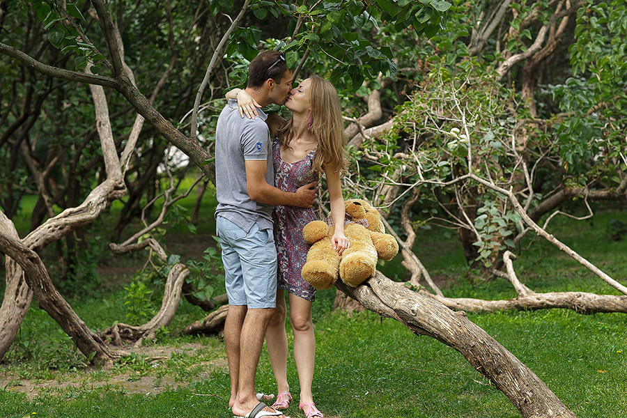 История любви Екатерины и Георгия