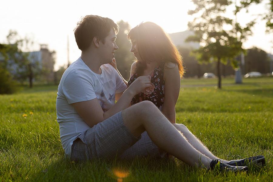 История любви Екатерины и Сергея