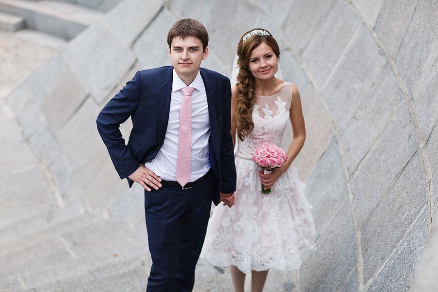 Свадьба в парке Горького