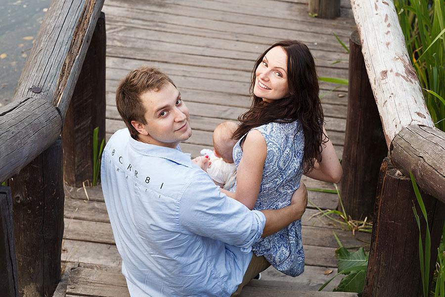 Аня и Саша в Воронцовском парке