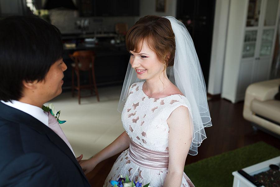 Восхищение невестой