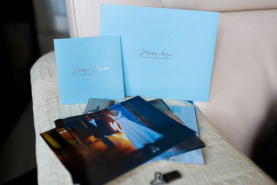 Оформление фотографий для свадьбы