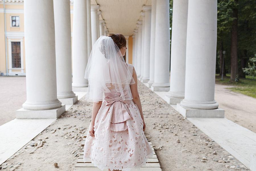 Невеста в усадьбе Архангельское