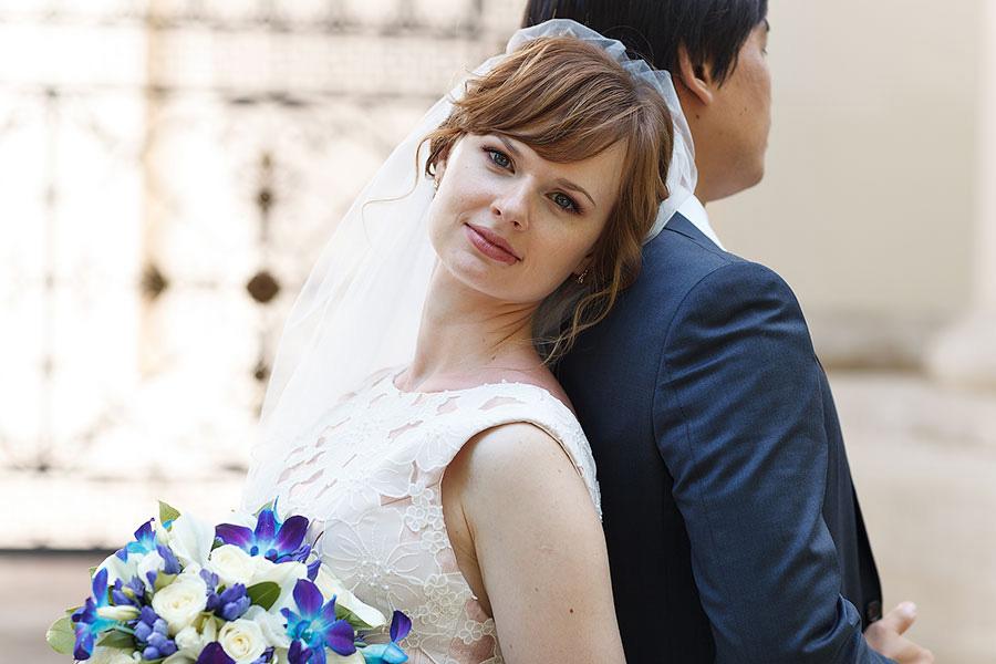 Анна красивая невеста