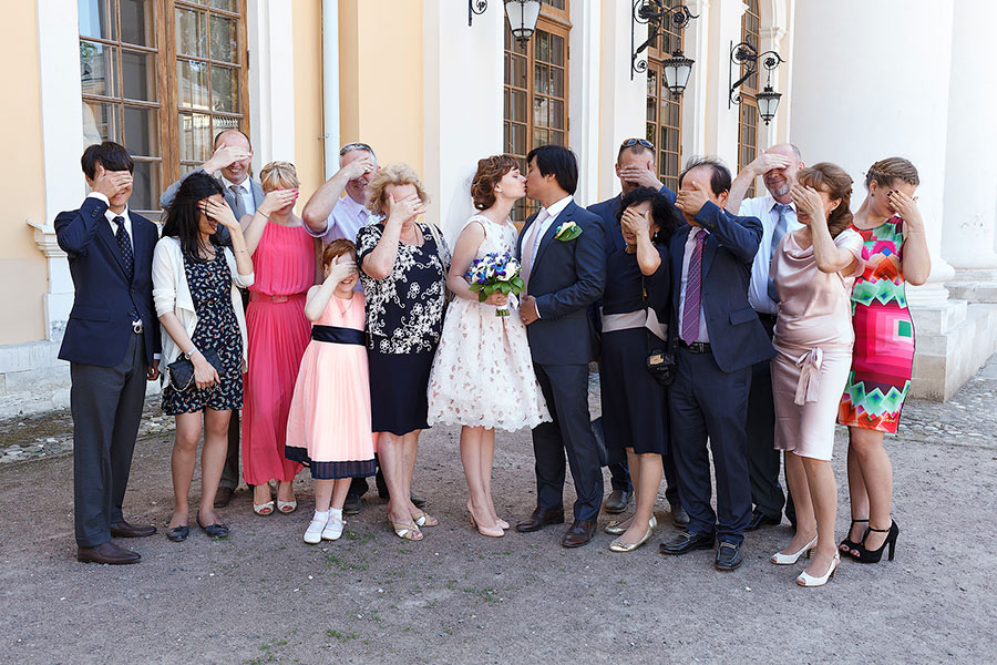 Родственники жениха и невесты