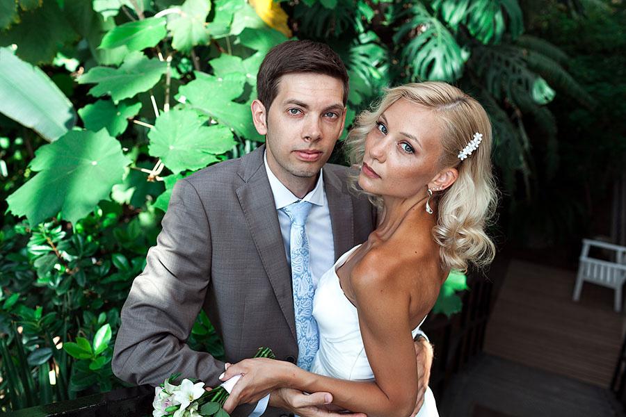 Виталий и Людмила в парке