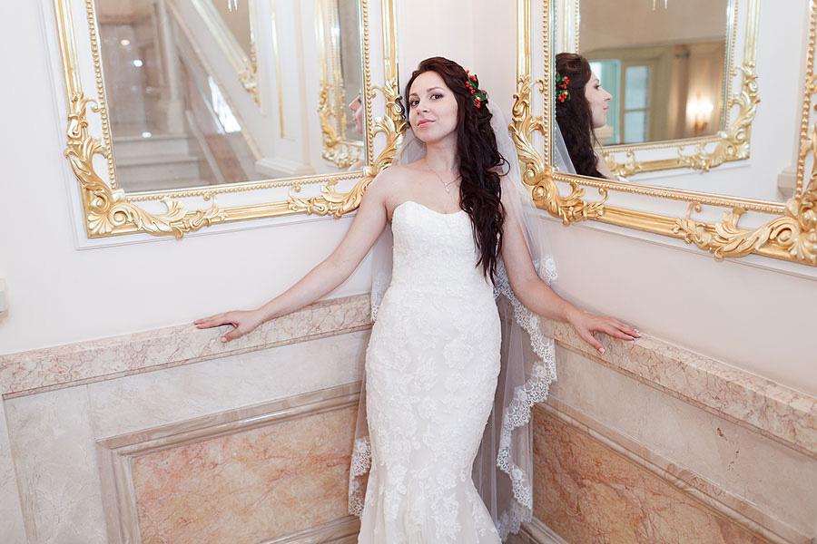 Невеста в Екатериновском дворце