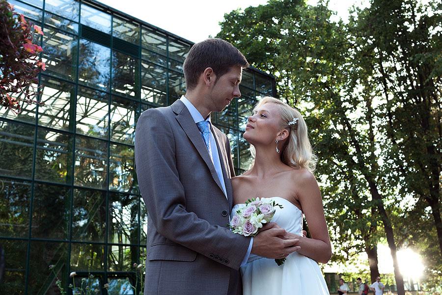 Свадьба в Аптекарском огороде