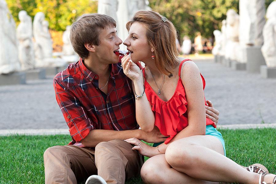 Саша и Витя на фотосессии