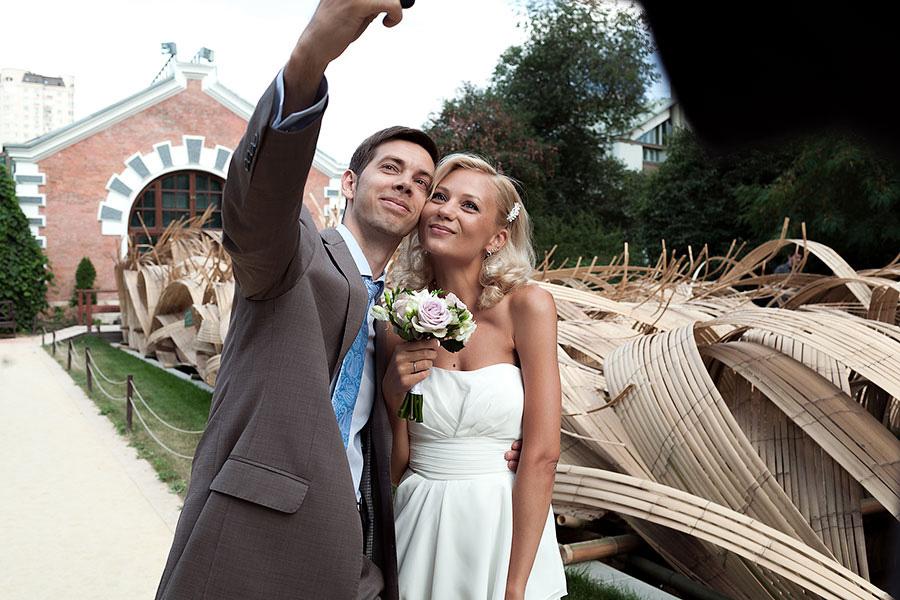 Свадебное селфи