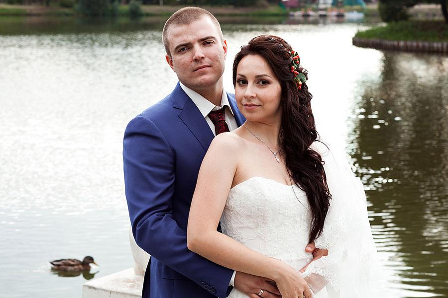 Свадьба летом