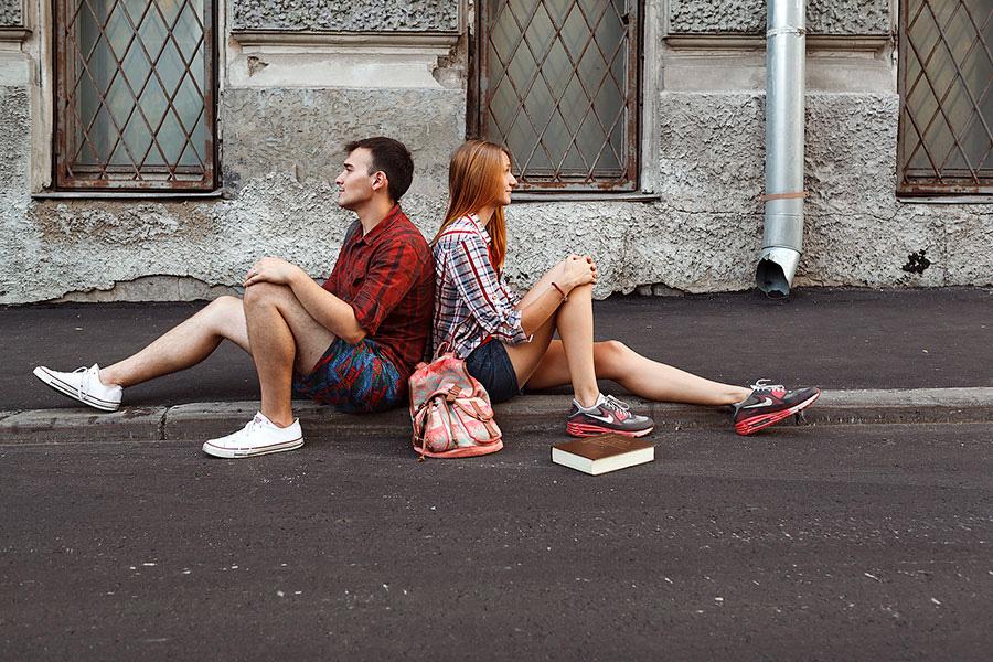 Центр Москвы съёмка истории любви