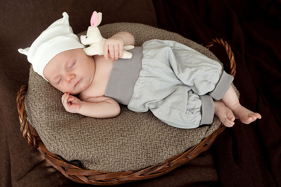 Фотосессия новорожденных