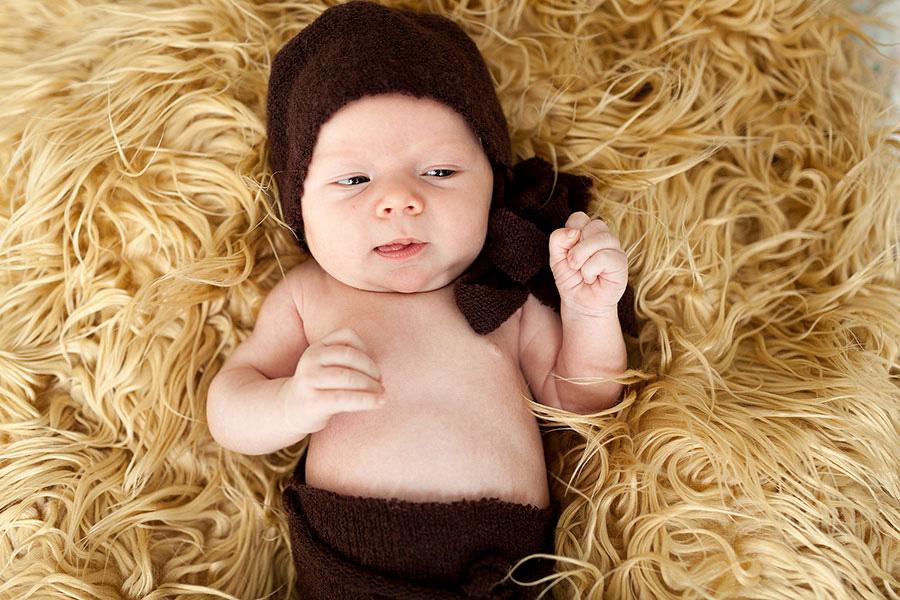 Фотосессия новорождённых