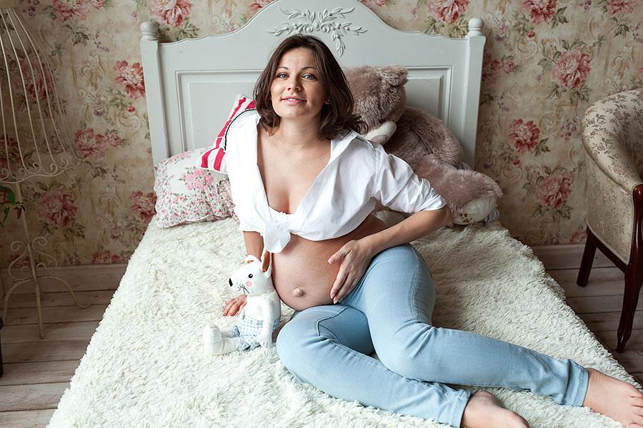 Фотосессия будущей мамы