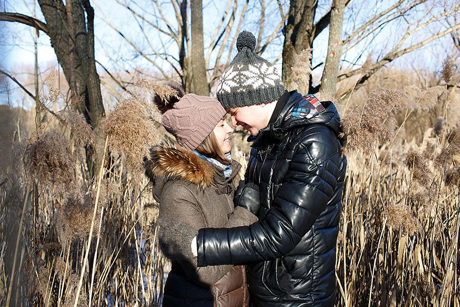 История любви Евгения и Натальи